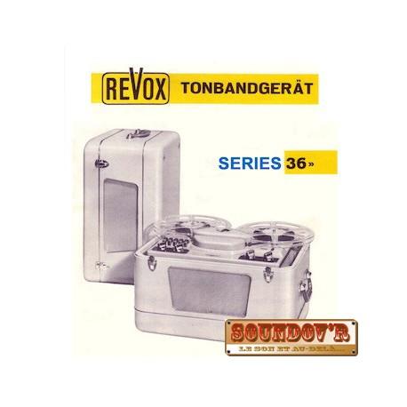 TECHNICAL DOCUMENTATION CD ROM REVOX 36 SERIES