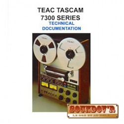 TECHNICAL DOCUMENTATION CD ROM TEAC 7300