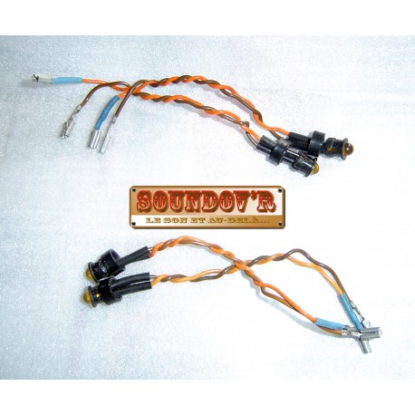 PAIRE LED RECORD REVOX B-PR