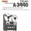 TEAC TASCAM 3440 USER DOCUMENTATION ENGLISH
