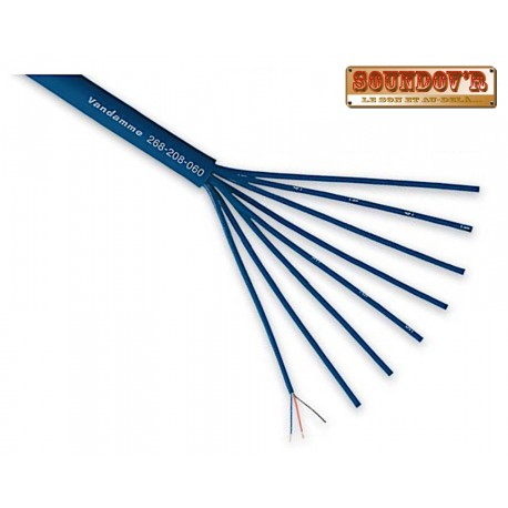 CABLE MULTIPAIRE AUDIO 8paires