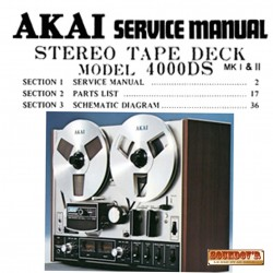 DOCUMENTATION TECHNIQUE AKAI 4000