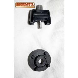 DIN plate locker adapter