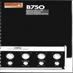 TECHNICAL DOCUMENTATION CD ROM REVOX B750