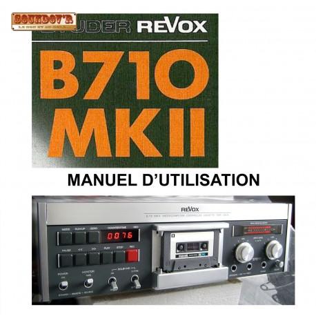 DOCUMENTATION TECHNIQUE REVOX B710